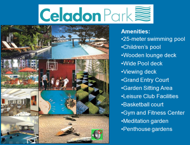 Celadon Park Amenities