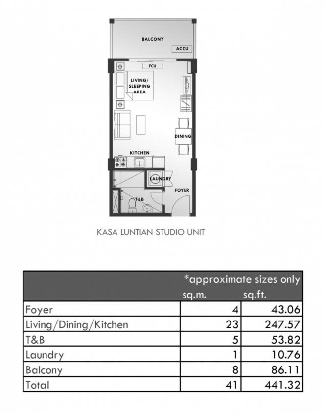 Kasa Luntian - Studio Unit