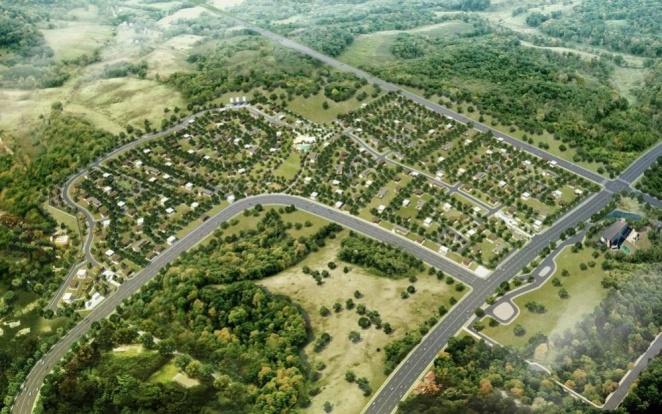 Mondia Nuvali Aerial View