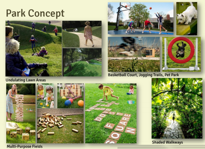 Mondia Nuvali Park Concept